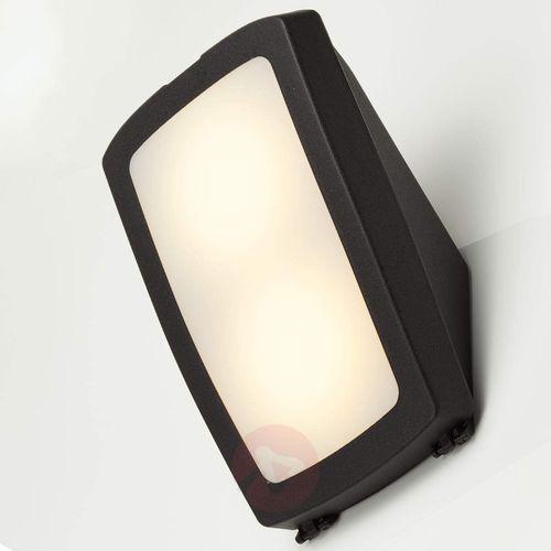 Jasny kinkiet zewnętrzny Germana LED 14W, czarny