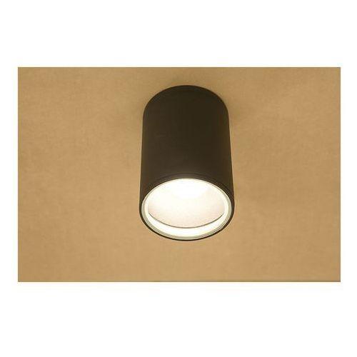 Downlight lampa sufitowa Fog 3403 Nowodvorski 1x60W ogrodowa oprawa plafon IP44 tuba outdoor grafitowy (5903139340397)
