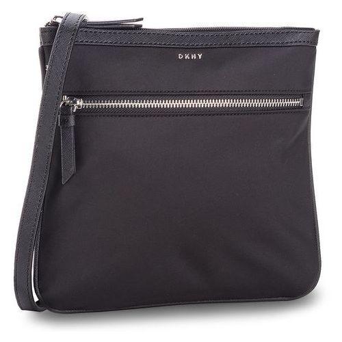 Torebka DKNY - Kaden- Zip Crossbody R81EE397 Black/Silver BSV, kolor czarny