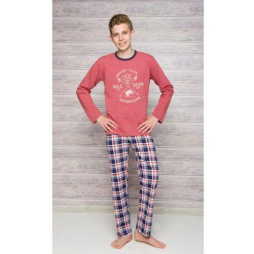 Piżama Taro Franek 289 dł/r 146-158 N 146, jeans melange-szary. Taro, 146, 152, 158, kolor niebieski
