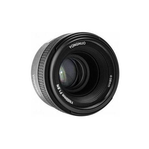 50 mm f1.8 obiektyw mocowanie nikon marki Yongnuo