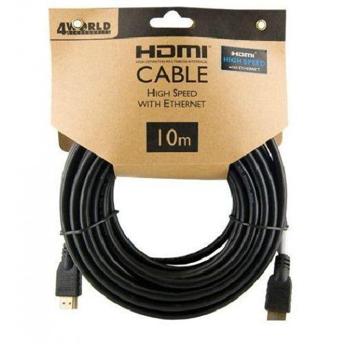 4world 4W Kabel HDMI High Speed z Ethernetem (v1.4), 10m