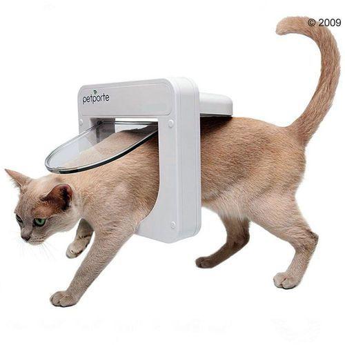 Petsafe petporte smartflap drzwiczki z mikrochipem - wymiary: 23,2 x 23,2 cm, białe