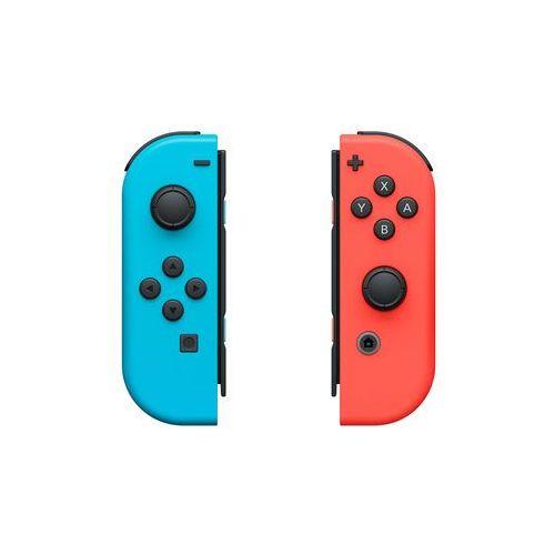 kontrolery joy-con prawy i lewy niebieski i czerwony dla konsoli nintendo switch marki Nintendo