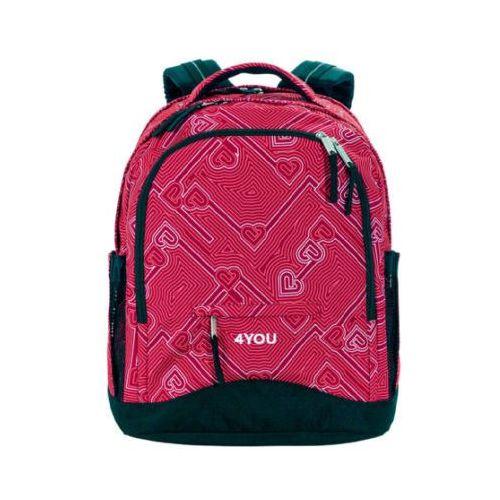 flash plecak compact, 445-45 heartlines marki 4you