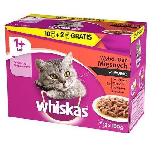 Whiskas mięsne dania sos saszetki 4x100g