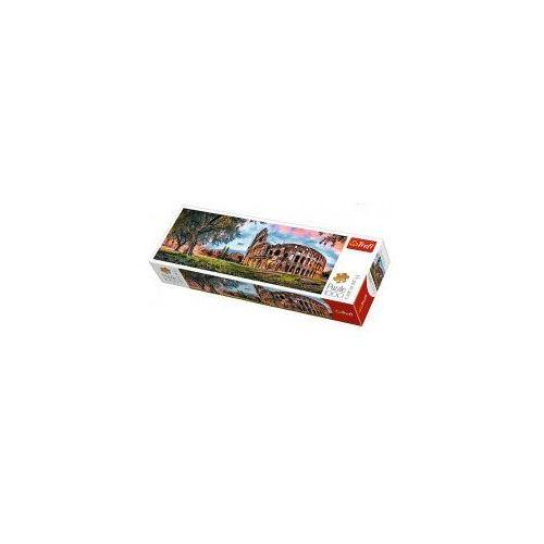 Puzzle 1000 el panorama koloseum o poranku marki Trefl