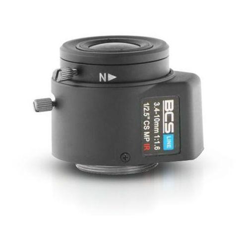 BCS-34105MIR Megapixelowy obiektyw 3.4-10 mm z przysłoną automatyczną do 5 MPX