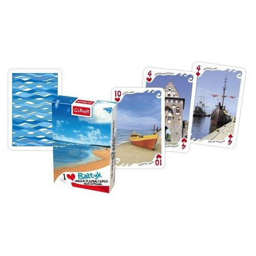 Trefl Karty kocham polskę bałtyk plaża +darmowa dostawa przy płatności kup z twisto