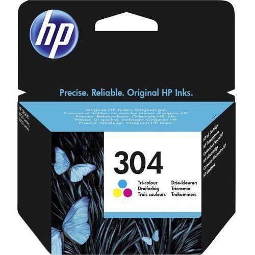oryginalny atrament HP 304 [N9K05AE] color, N9K05AE