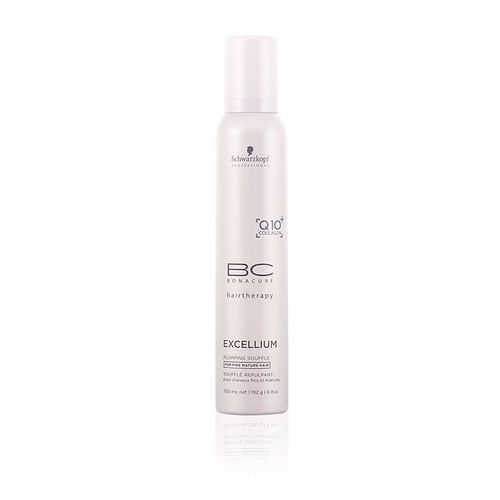 Schwarzkopf professional  bc bonacure excellium plumping sufle dla włosów dojrzałych (exclusive age-defying formula combining q10 and collagen) 200 ml