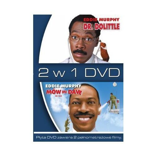 2 w 1 Dr Dolittle / Mów mi Dave (DVD) - Brian Robbins, Betty Thomas (5903570148569)