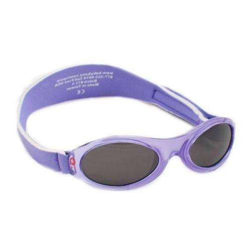 Banz Okulary przeciwsłoneczne dzieci 2-5lat uv400 - lilac spring flower (9330696010238)