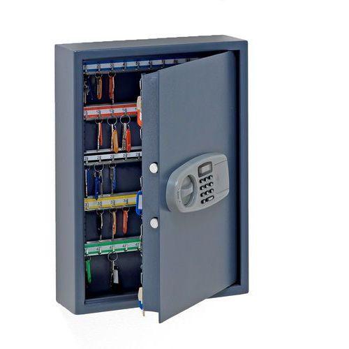 Szafka na klucze, 100 haczyków, 550x400x120 mm marki Aj produkty