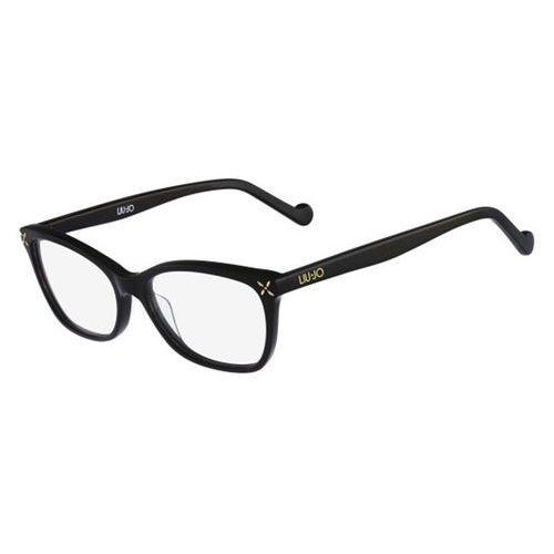 Okulary korekcyjne  lj2623 001 marki Liu jo
