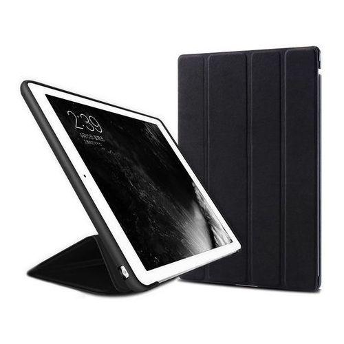 Etui Alogy Smart Case Apple iPad 2 3 4 silikon Czarne + Szkło - Czarny