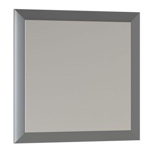 Lustro kwadratowe Mirano Vena 60 x 60 cm w ramie szare, 5908271108270