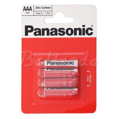 Bateria cynkowo-węglowa panasonic r03 aaa (blister) wyprodukowany przez Philips