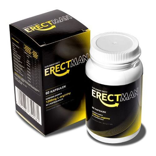 ErectMan 60 kaps. Silniejsza erekcja na dłużej