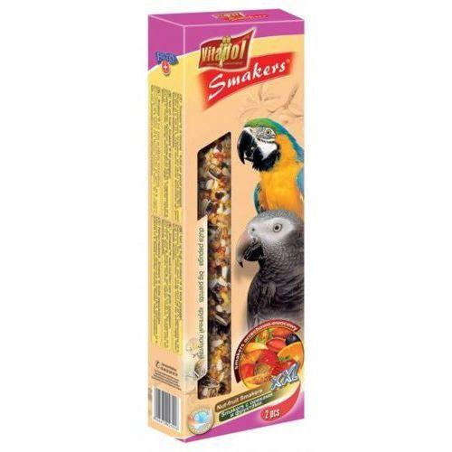 Vitapol Smakers orzechowo-owocowy kolby maxi dla dużych papug 2szt