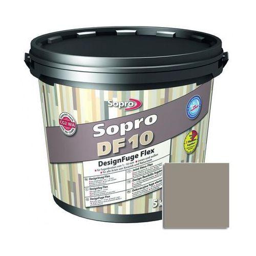 Fuga szeroka flex df10 design 18 piasek szary 5 kg marki Sopro