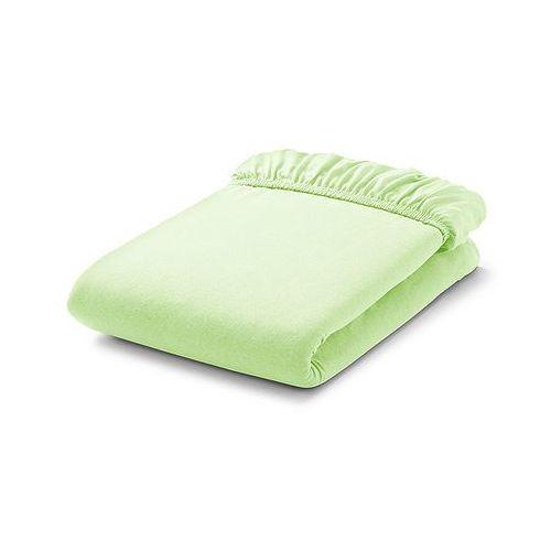 prześcieradło frotte do łóżeczka 70x140cm - zielone jabłuszko marki Mamo-tato