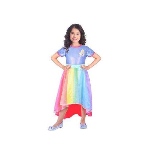 Amscan Kostium tęczowa księżniczka barbie dla dziewczynki - 3/5 lat (104) (0192937019726)