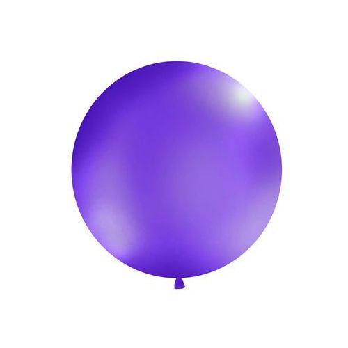 Twojestroje.pl Balon gigant lawendowy 100cm 1 szt. (5902230746961)