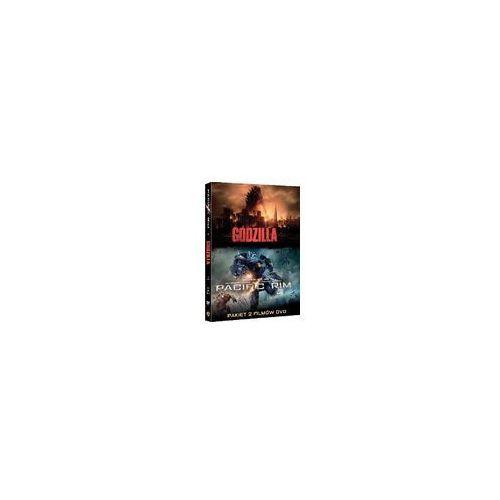 Godzilla / Pacific Rim (DVD) - Gareth Edwards, Guillermo del Toro DARMOWA DOSTAWA KIOSK RUCHU (7321909332775)