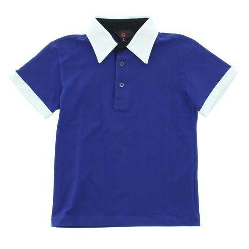 John Richmond Polo T-shirt dziecięcy Niebieski Biały 6 lat