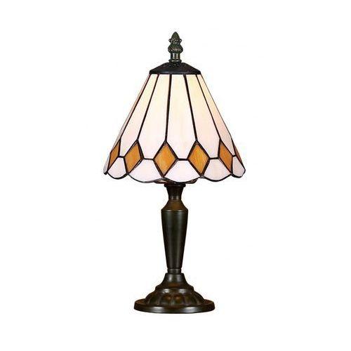 Lampa stołowa tiffany 90 1xe14/40w marki Prezent