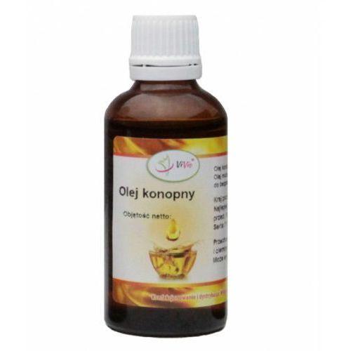Olej konopny rafinowany 100ml marki Vivo