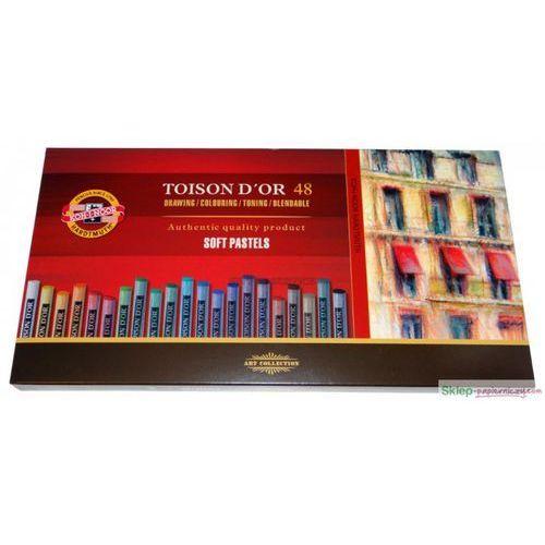 Kredki KOH-I-NOOR Pastele suche Toison d'or 48, 76777803913AP (5227861)