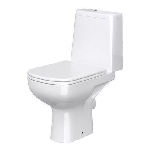 Kompakt wc  seno rimless z deską wolnoopadającą marki Cersanit