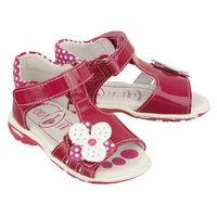 Ren but 11-1406 amarantowy, sandałki profilaktyczne dziecięce, rozmiary: 21-25 - różowy
