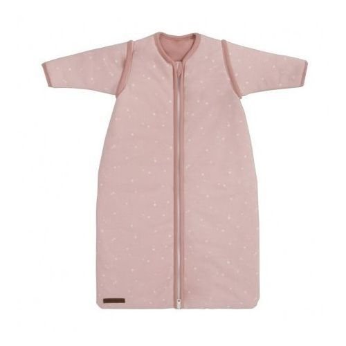 Śpiworek z odpinanymi rękawkami - Little Stars Pink - 90 cm - Little Dutch, kolor różowy