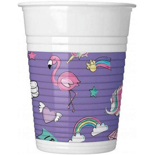 """Kubeczki plastikowe """"Myszka Minnie i Jednorożec"""", PROCOS, 200 ml, 8 szt (5201184903292)"""