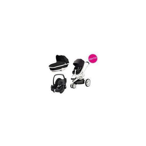 Wózek wielofunkcyjny 3w1 Moodd + Pebble GRATIS Quinny (Black Iron), 76609220 76909220 63008950