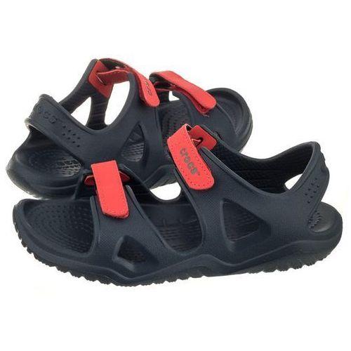 Sandałki Crocs Swiftwater River Sandal K Navy/Flame 204988-4BA (CR150-b)