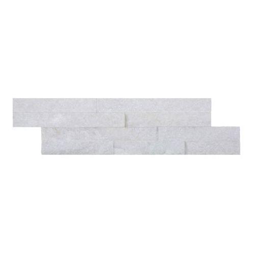 Kamień Quartz 10 x 35 cm biały 0,385 m2