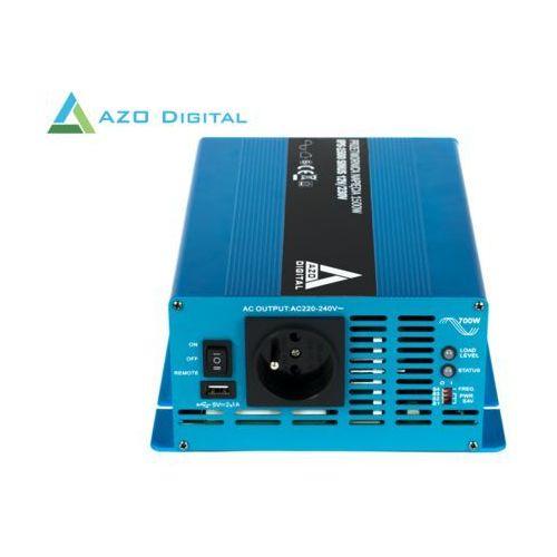 Przetwornica napięcia 12 vdc / 230 vac sinus ips-1500s 1500w marki Azo digital