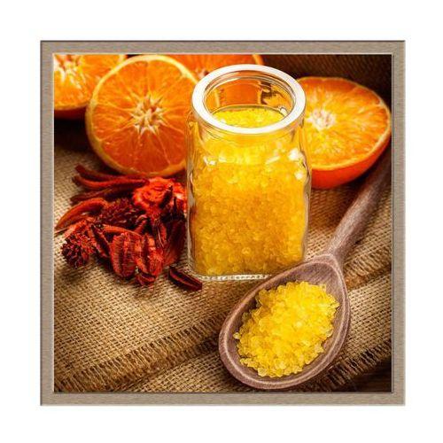 Knor Obraz pomarańczowe spa 30 x 30 cm (5901554504738)