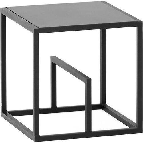 Regał modułowy text single set metal czarny, 1TB117MB