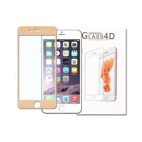 Apple iphone 6 - szkło hartowane 3d - złoty marki Etuo.pl - szkło