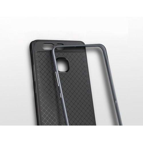Etui iPaky Premium Hybrid Huawei P9 Grey + Szkło