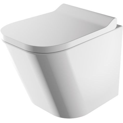 Omnires Fontana MWBP miska wisząca wc bezkołnierzowa z deską wolnoopadającą