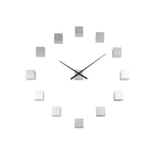Zegar ścienny DIY Cubic silver by Karlsson, KA5698SI