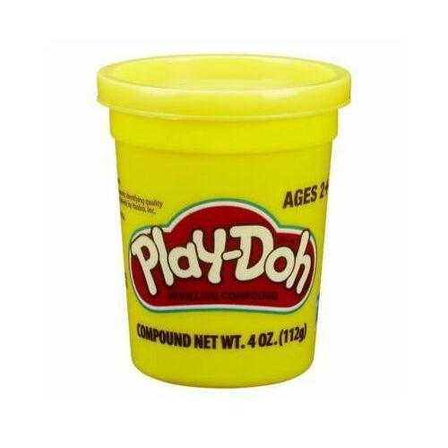 Hasbro Playdoh tuba pojedyncza na tacce, żółta - darmowa dostawa od 199 zł!!!