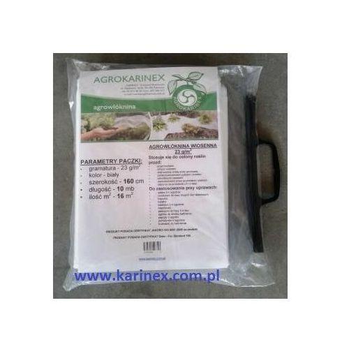 Agrowłóknina wiosenna pp 23 g/m2 biała 1,6 x 10 mb. marki Agrokarinex