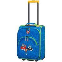 Travelite Bohaterowie Miasta walizka mała kabinowa dla dzieci 18/43 cm / niebieska - Navy (4027002064553)